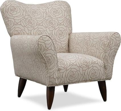 Kady Accent Chair - Aruba Linen
