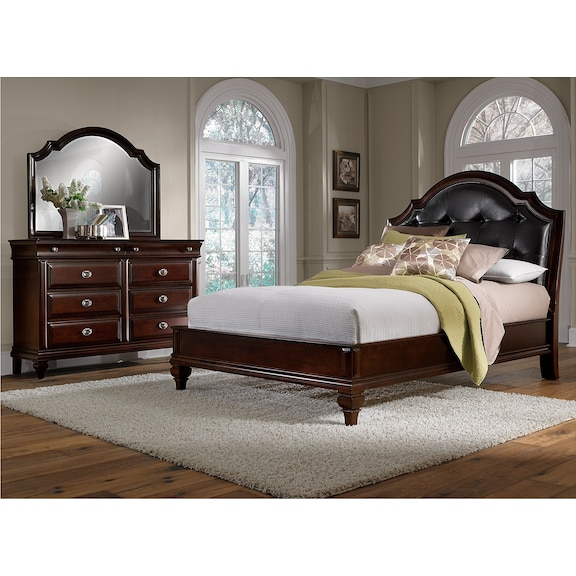 The Manhattan Collection - Cherry | Value City Furniture