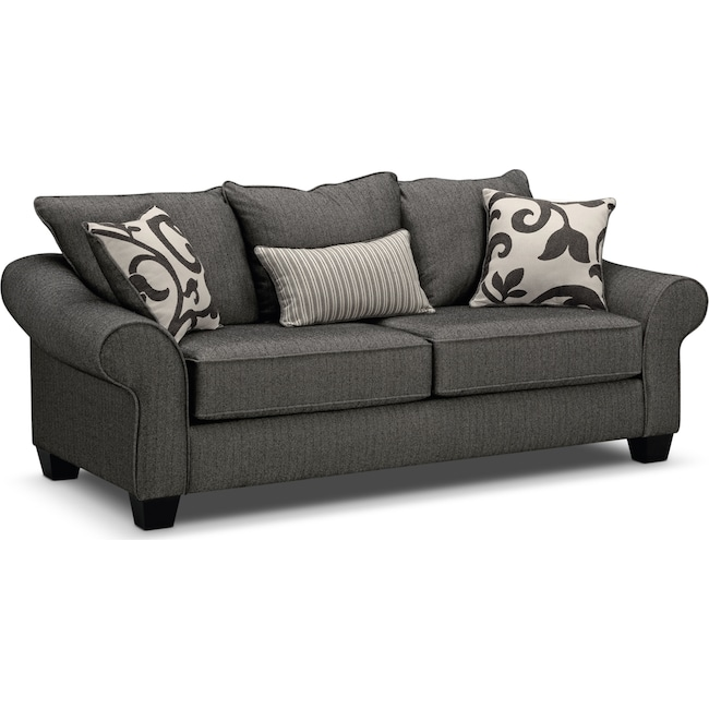 Colette Sofa Gray By Kroehler