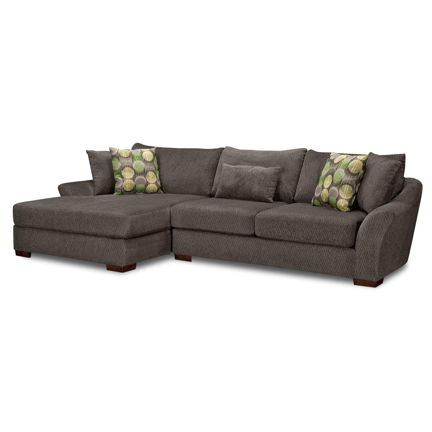 Living Room Furniture - Oasis 2 Pc. Sectional