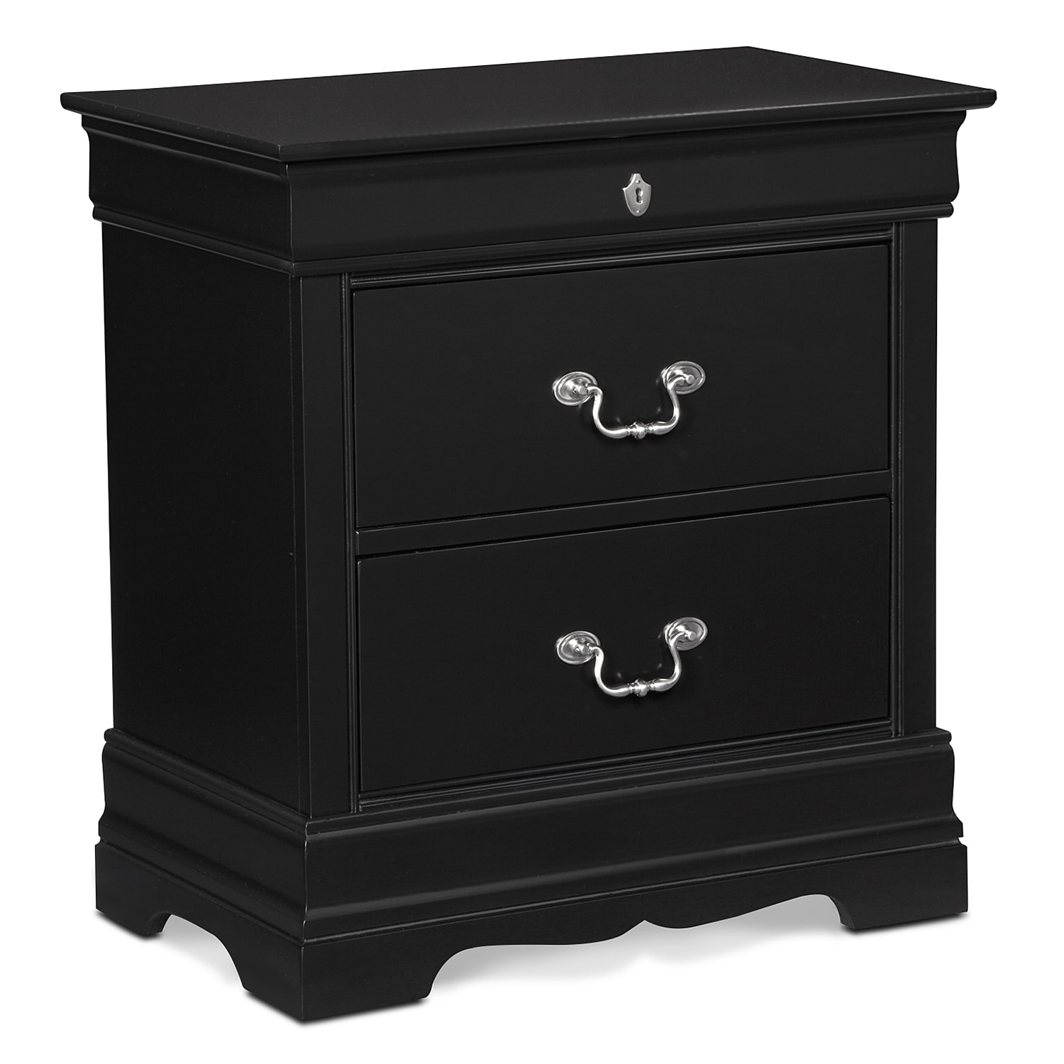 Kids Furniture - Neo Classic Nightstand - Black