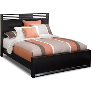 Bally Queen Bed - Espresso