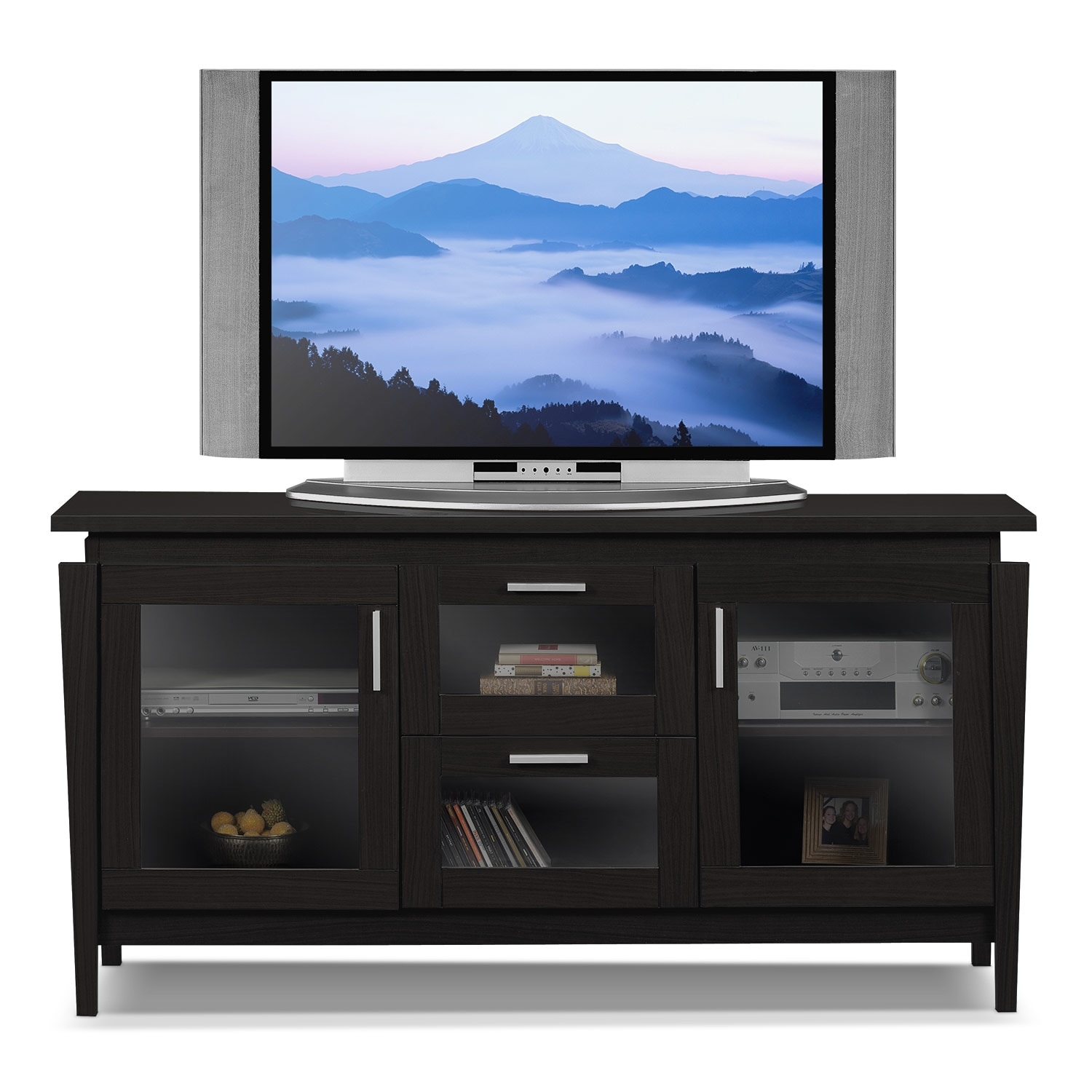 Ashley Porter 60 Inch TV Stand   Mathis Brothers Furniture
