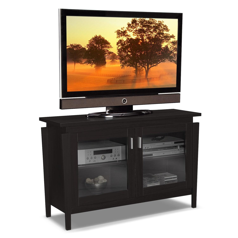 saber 48 tv stand merlot value city furniture