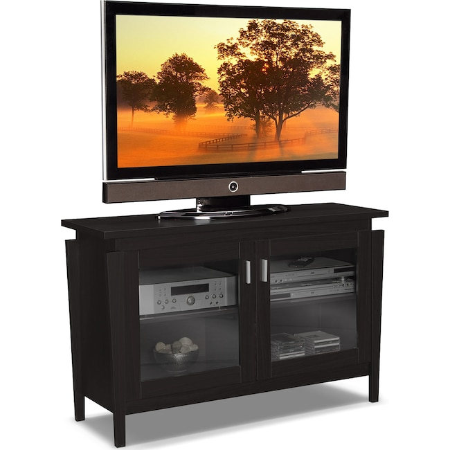 "Entertainment Furniture - Saber 48"" TV Stand - Merlot"
