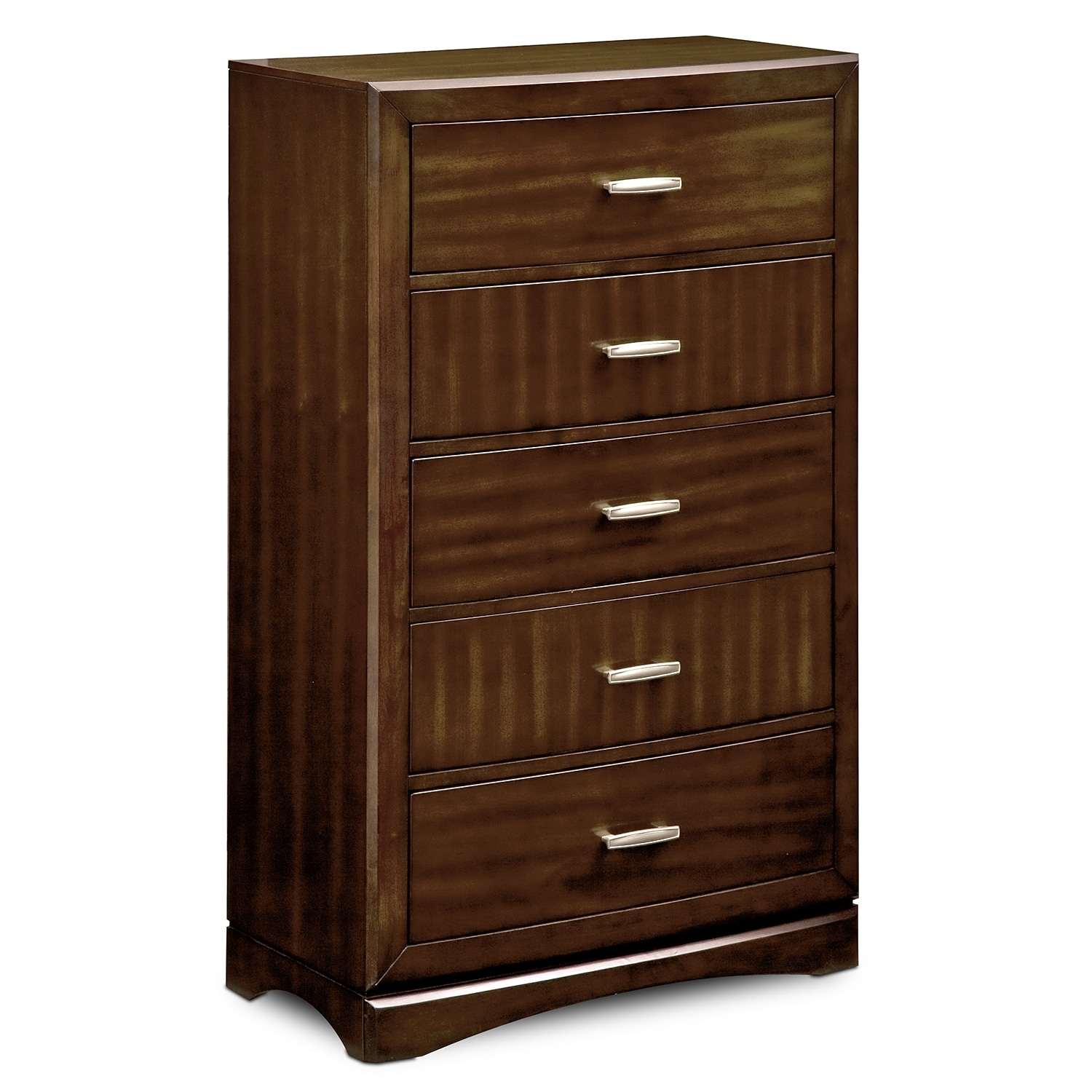Bedroom Furniture - Toronto Chest - Pecan