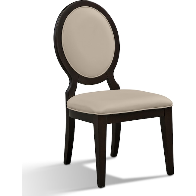 Dining Room Furniture - Cosmo Chair - Merlot