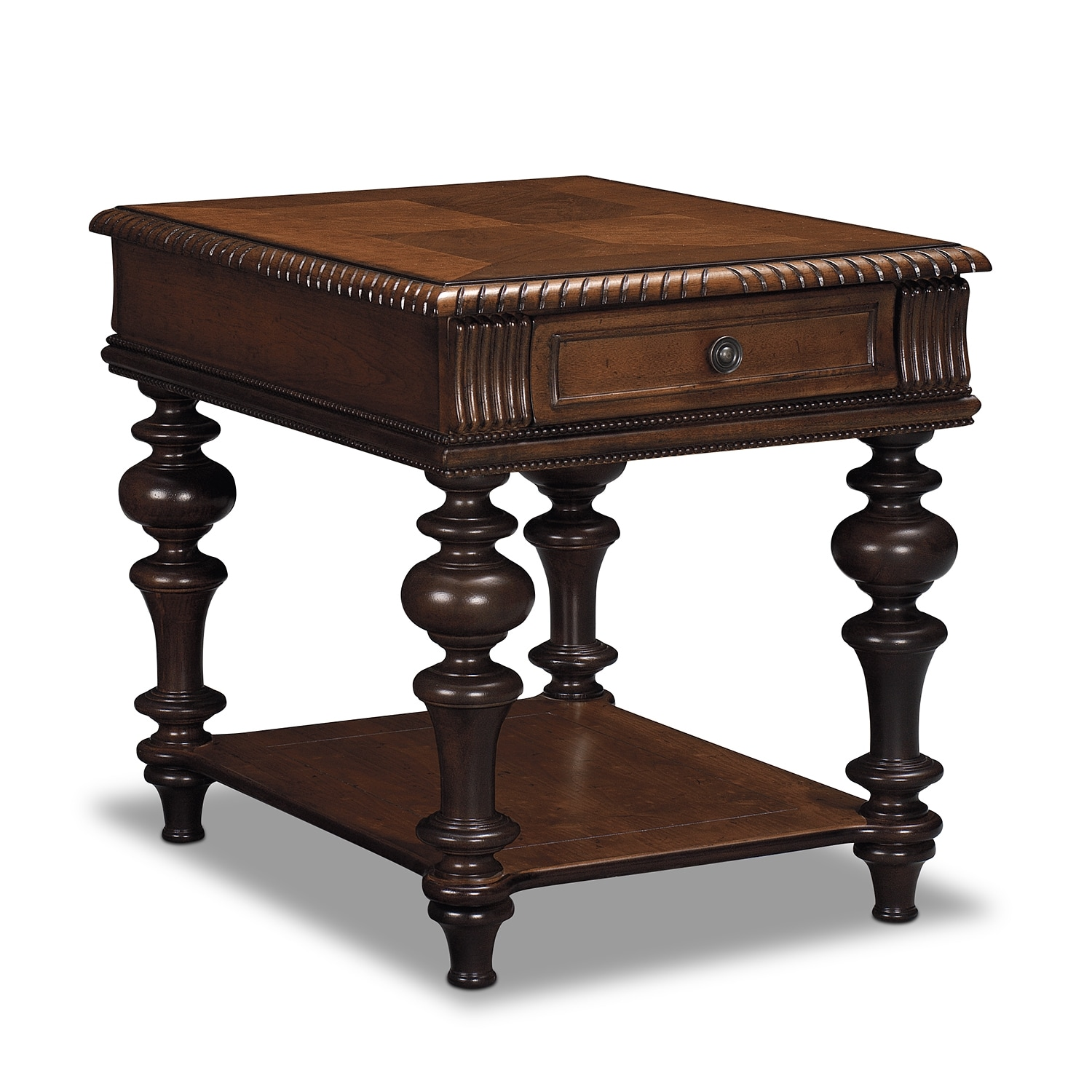 Westham End Table - Cherry