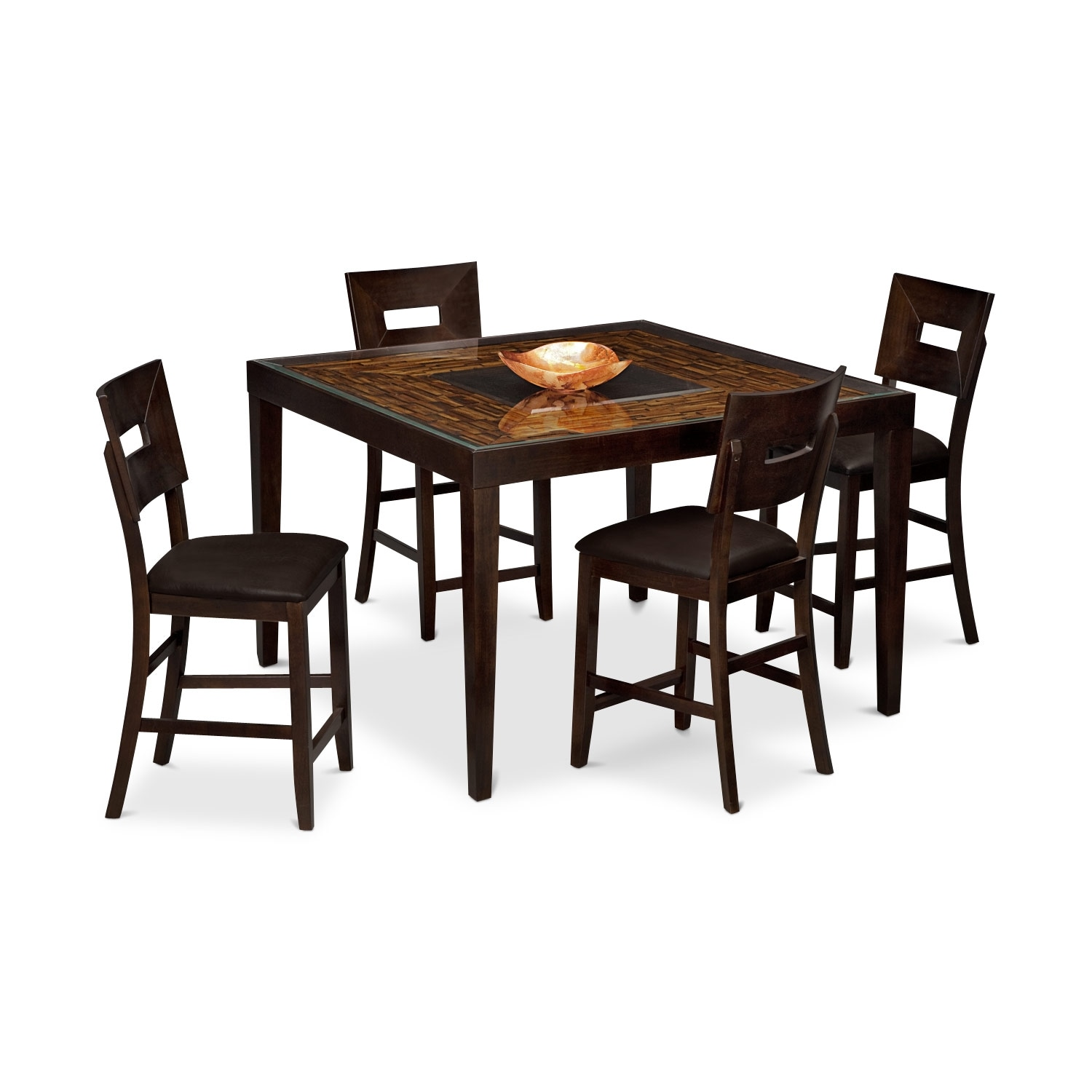 Cyprus II 5 Pc. Counter-Height Dinette
