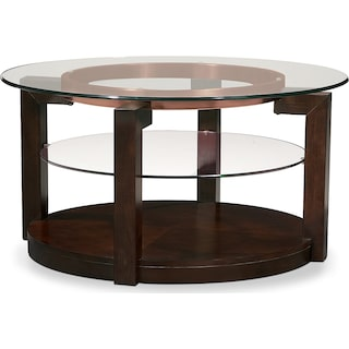 Auburn Cocktail Table - Merlot