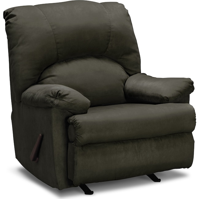 Living Room Furniture Quincy Rocker Recliner