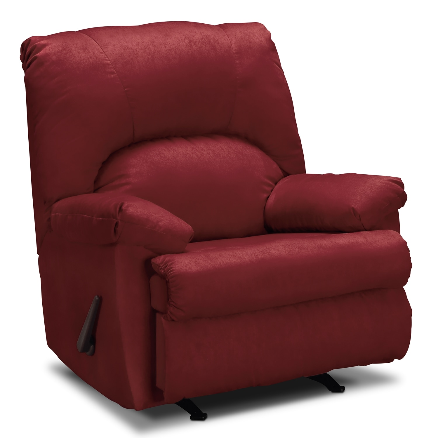 Quincy Rocker Recliner Garnet Value City Furniture And