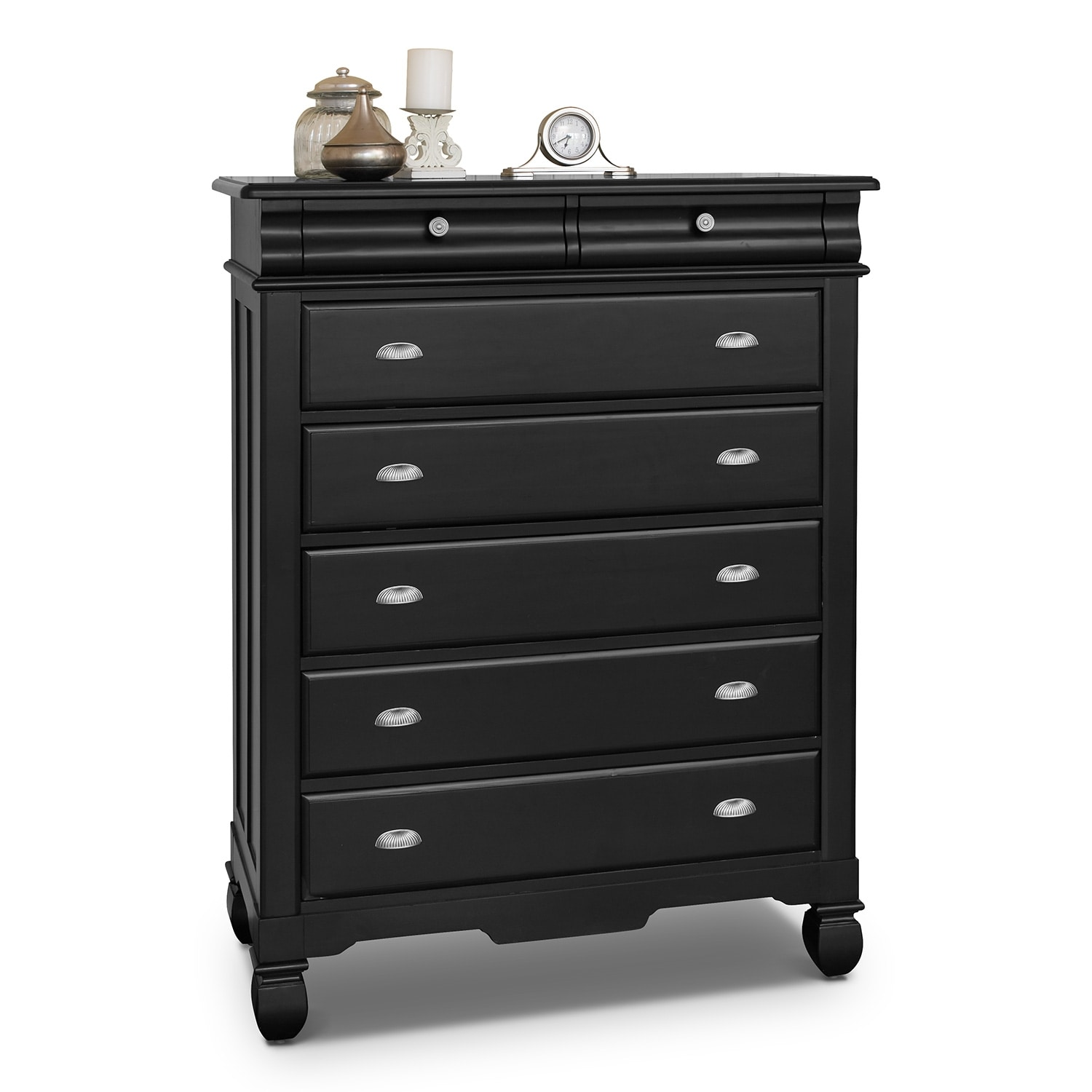 Kids Furniture - Plantation Cove Chest - Black