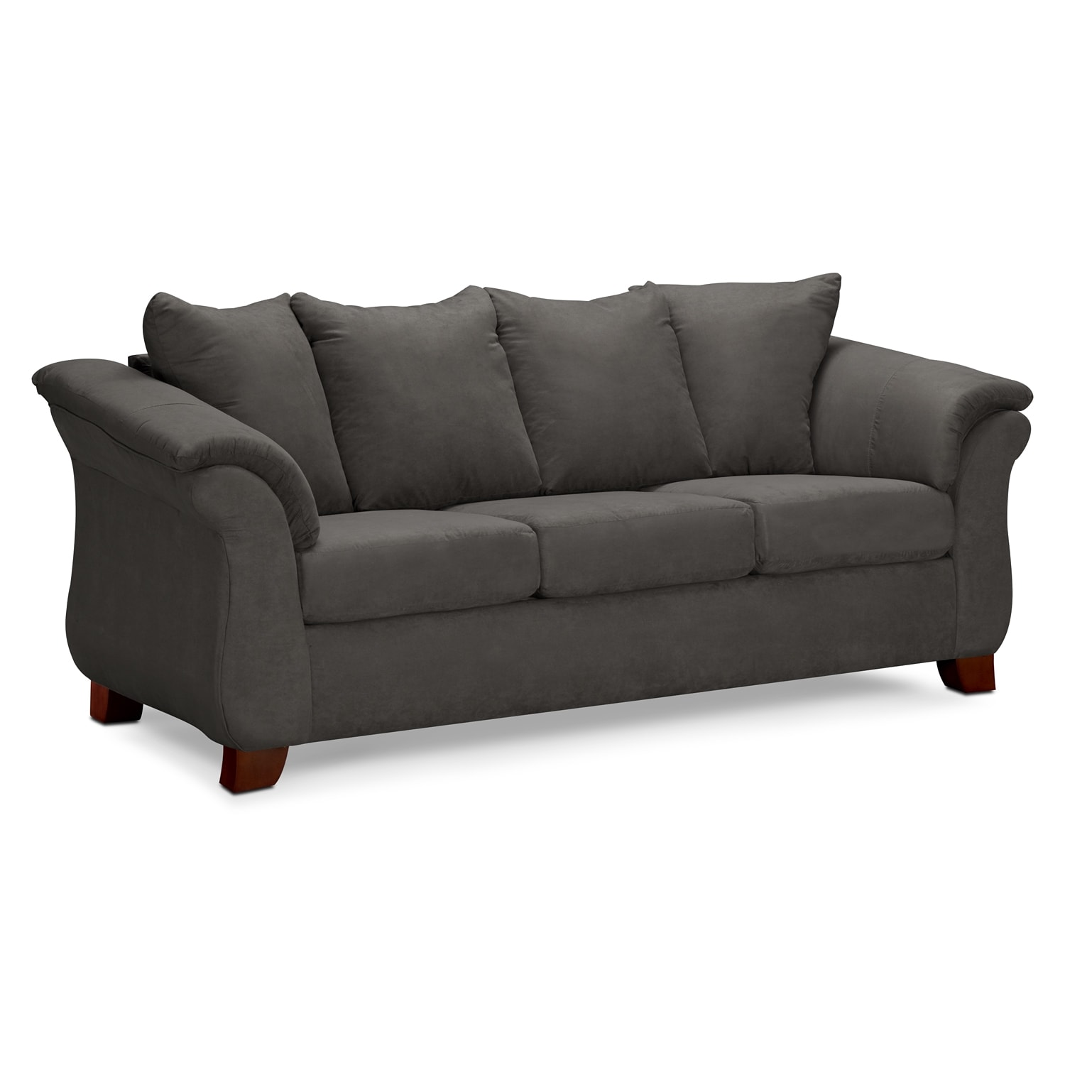 Bon Living Room Furniture   Adrian Sofa   Graphite