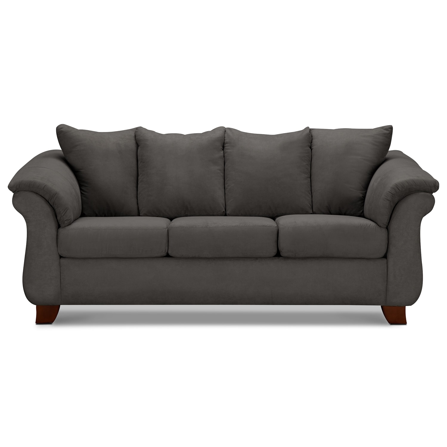 Furniture of america chaves contemporary 3 piece sofa set - Click To Change Image