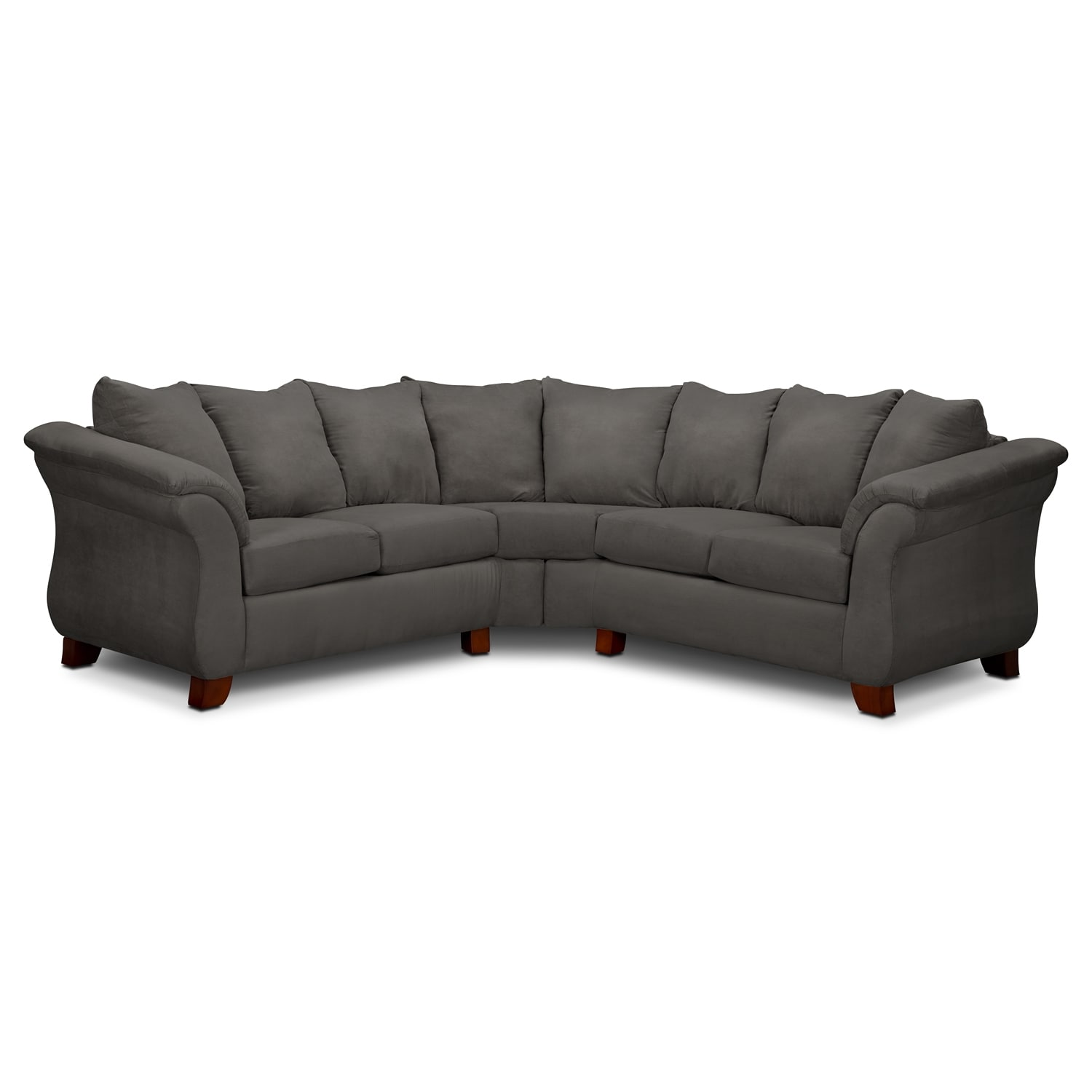 Adrian 2-Piece Sectional - Graphite