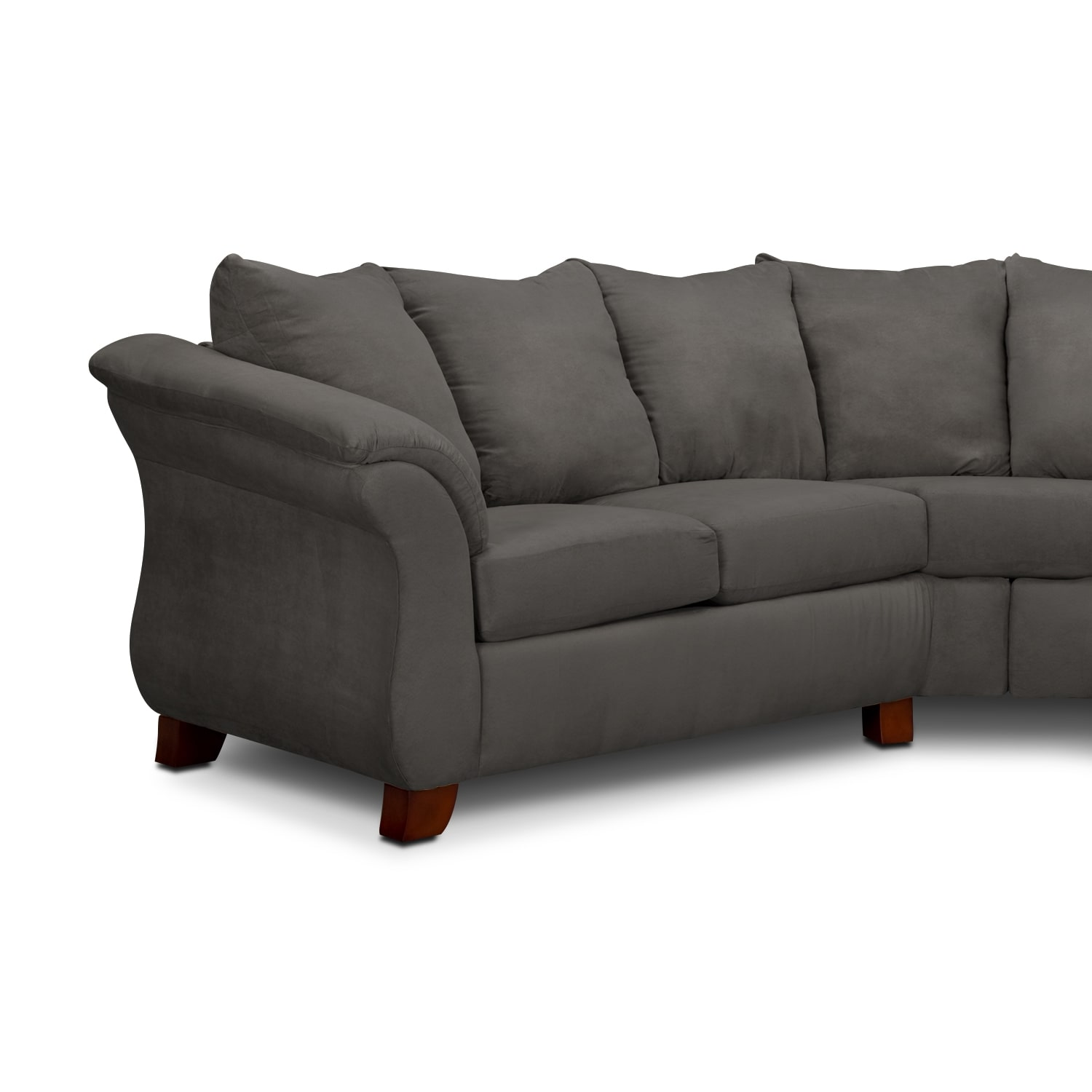 Adrian 2 Piece Sectional Graphite