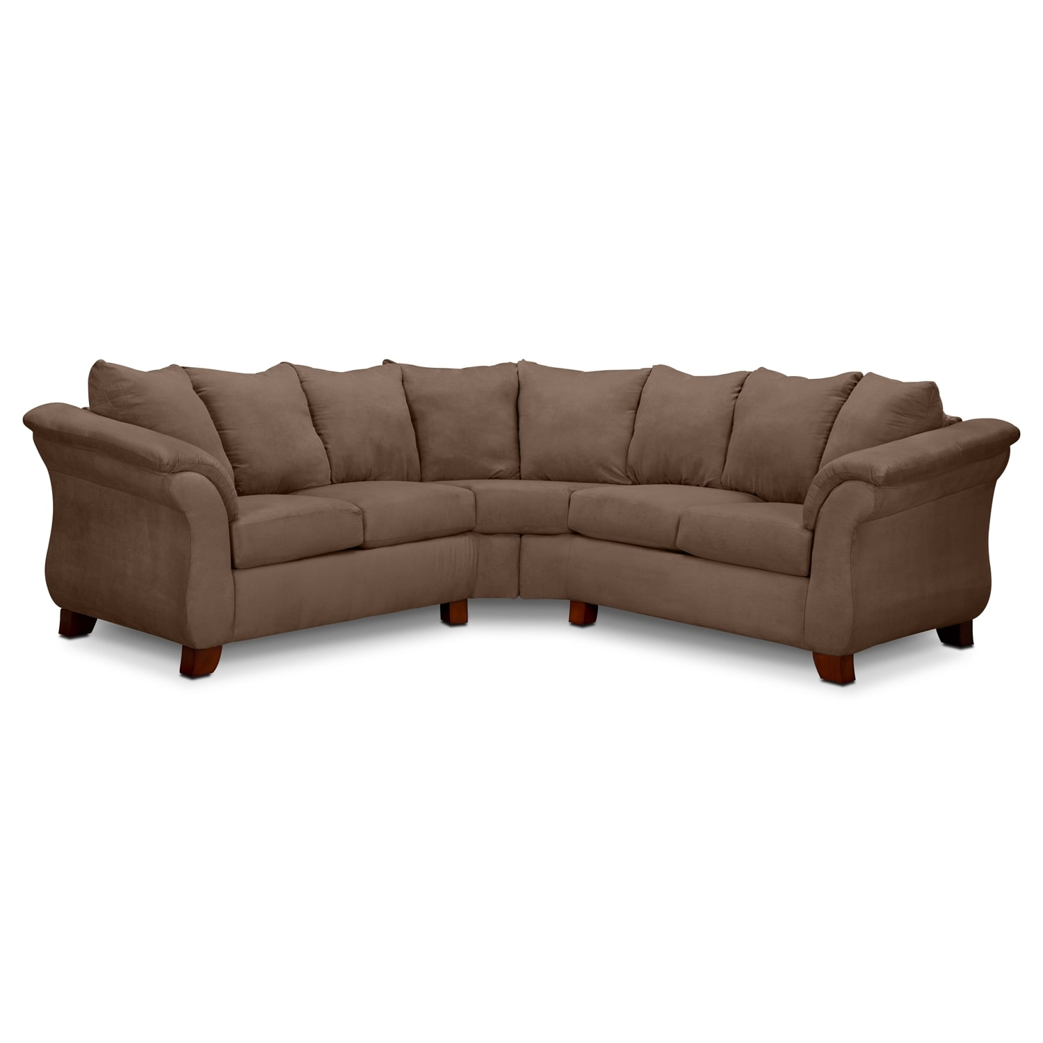 Adrian 2-Piece Sectional - Taupe
