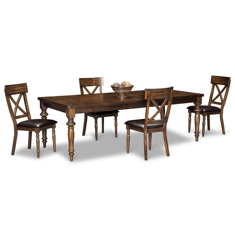 Dining Room Furniture - Alamo 5 Pc. Dinette