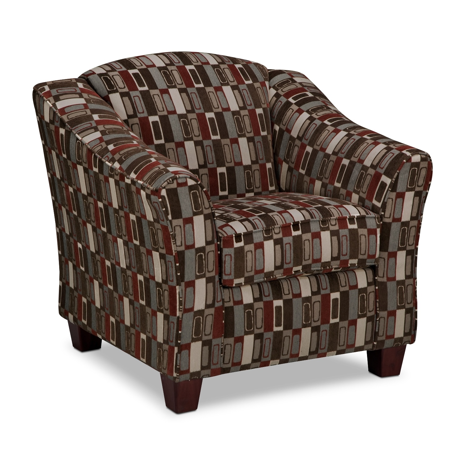 Living Room Furniture - Monarch Accent Chair