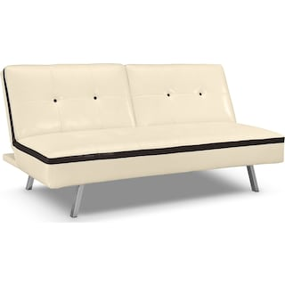 Costa Mesa Futon Sofa Bed - Ivory