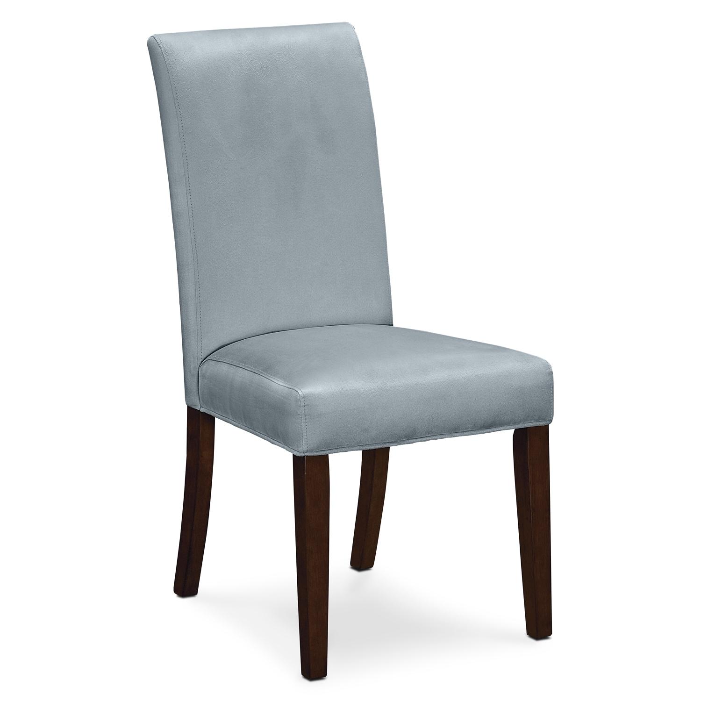 Dining Room Furniture - Alcove Side Chair - Aqua