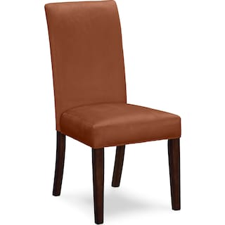 Alcove Side Chair - Orange