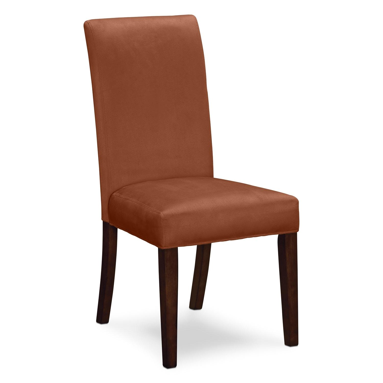 Alcove Side Chair   Orange