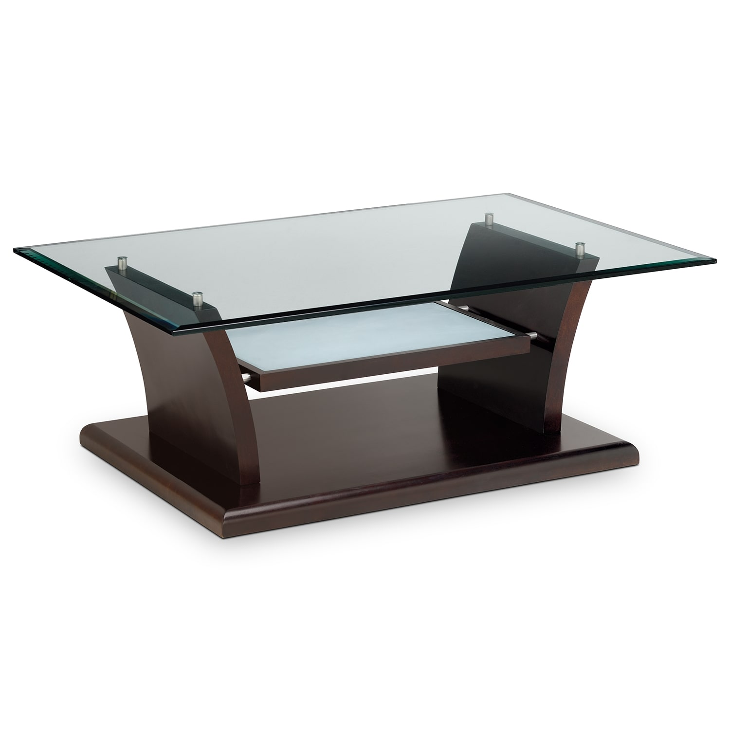 Bell Aer Cocktail Table Merlot