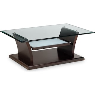 Bell Aer Cocktail Table - Merlot