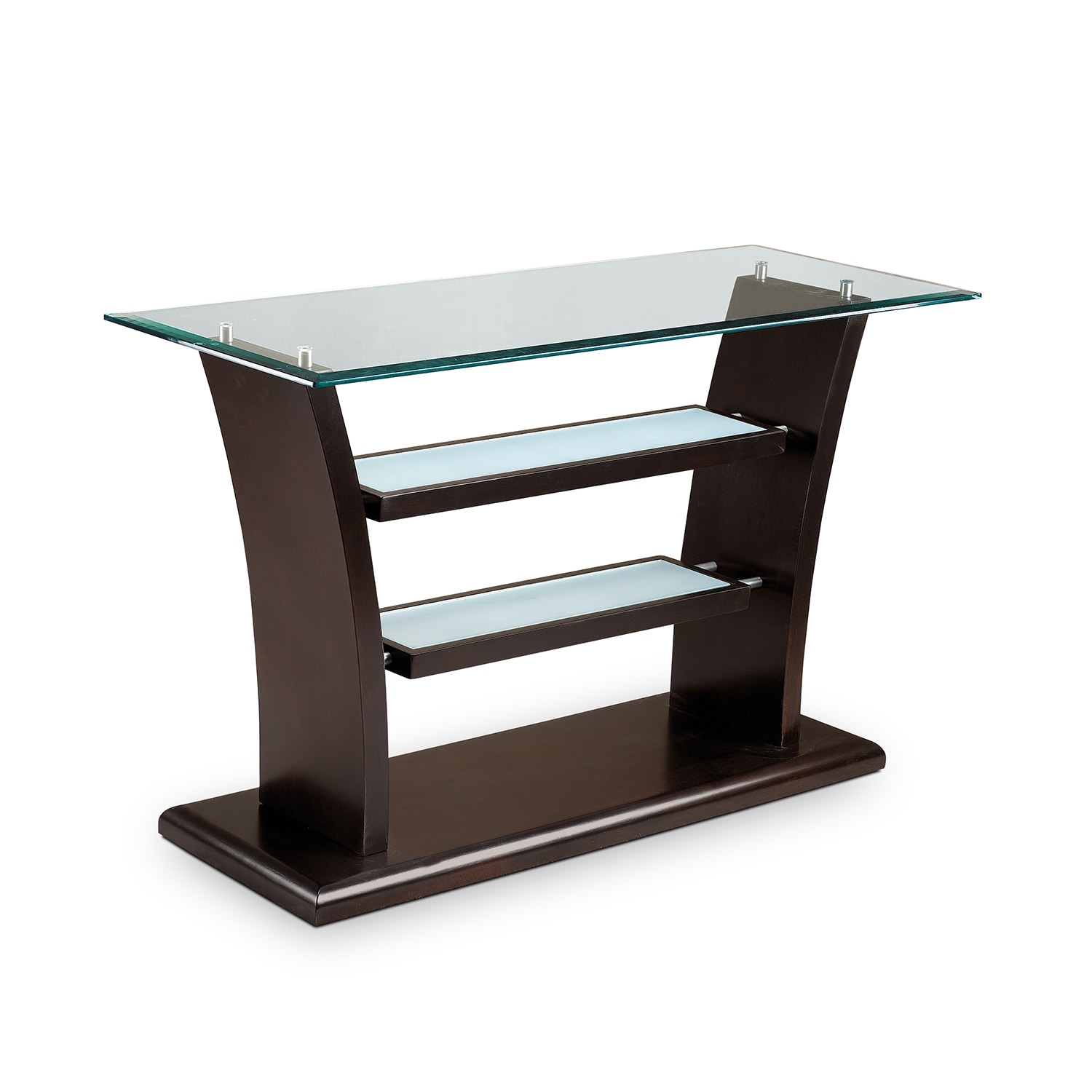 Bell Aer Sofa Table - Merlot