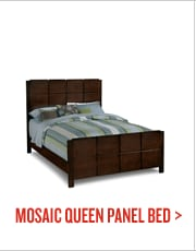 Mosaic Queen Panel Bed