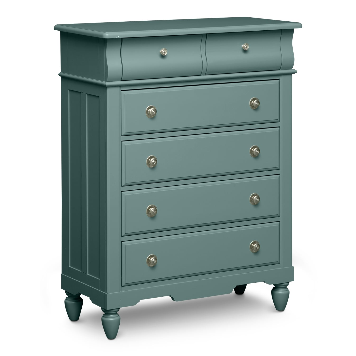 Kids Furniture - Seaside Chest - Blue