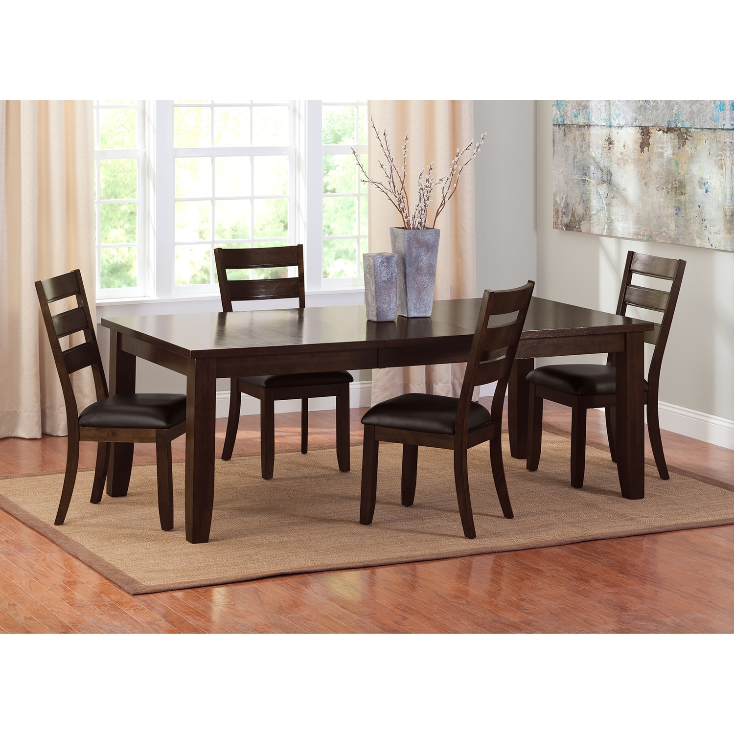 Value City Dining Room Tables Abaco Dining Table Brown Value City Furniture
