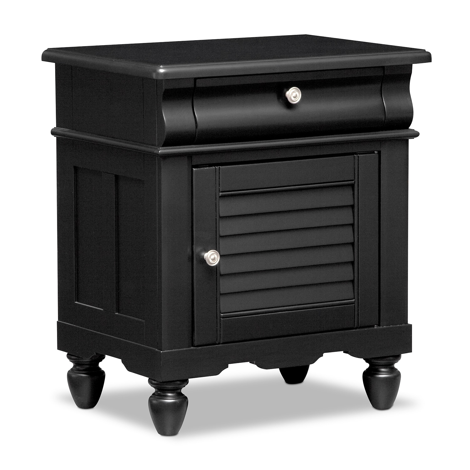 Seaside Nightstand   Black