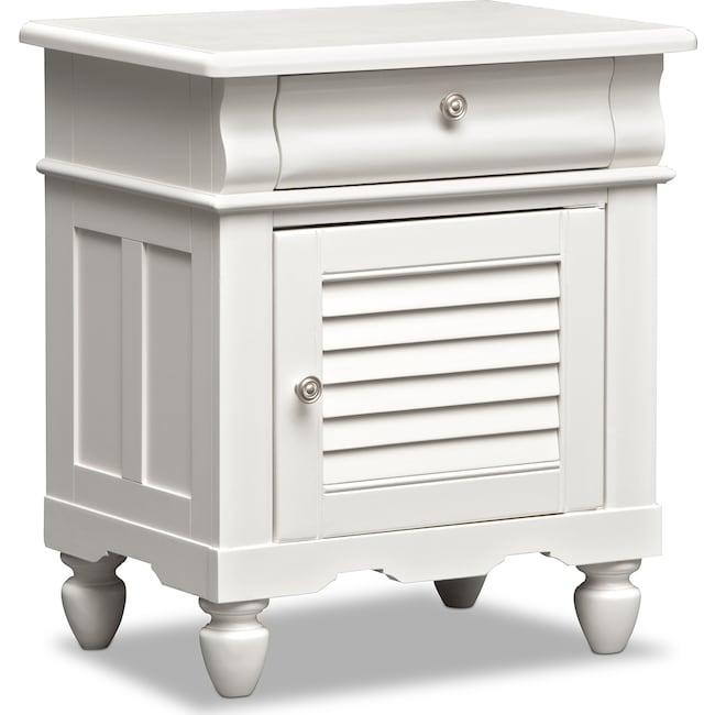 Kids Furniture - Seaside Nightstand - White
