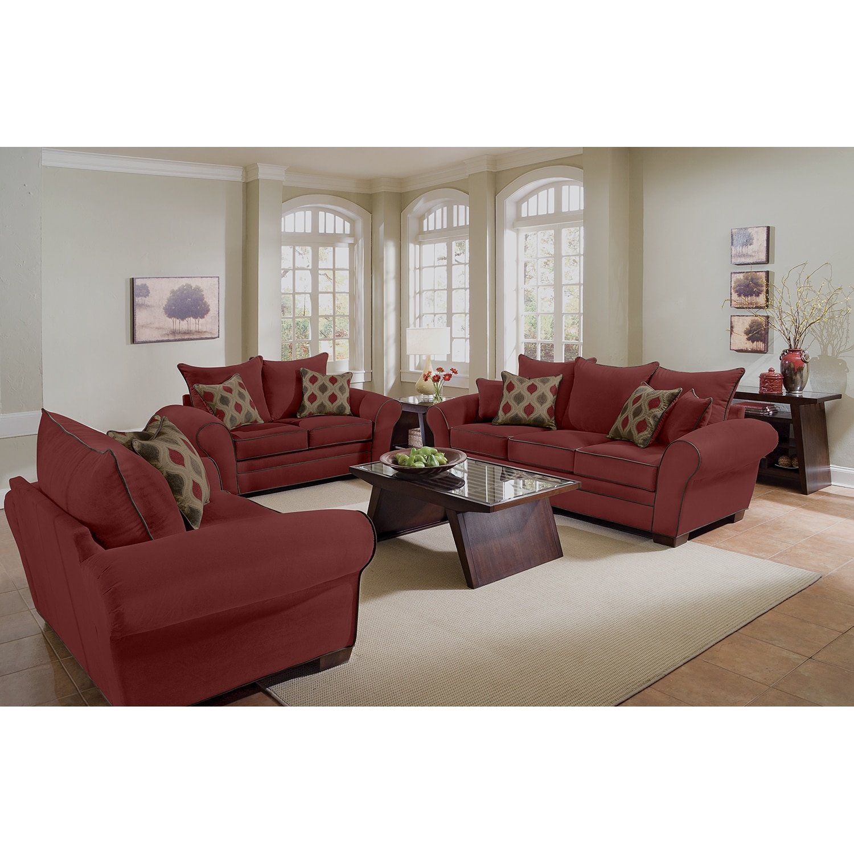 Rendezvous Sofa Wine