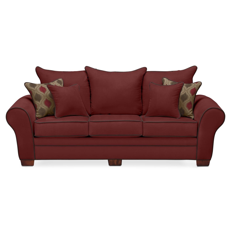 Living Room Furniture Richmond Va Rendezvous Sofa Wine Value City Furniture