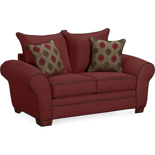 Rendezvous Loveseat - Wine