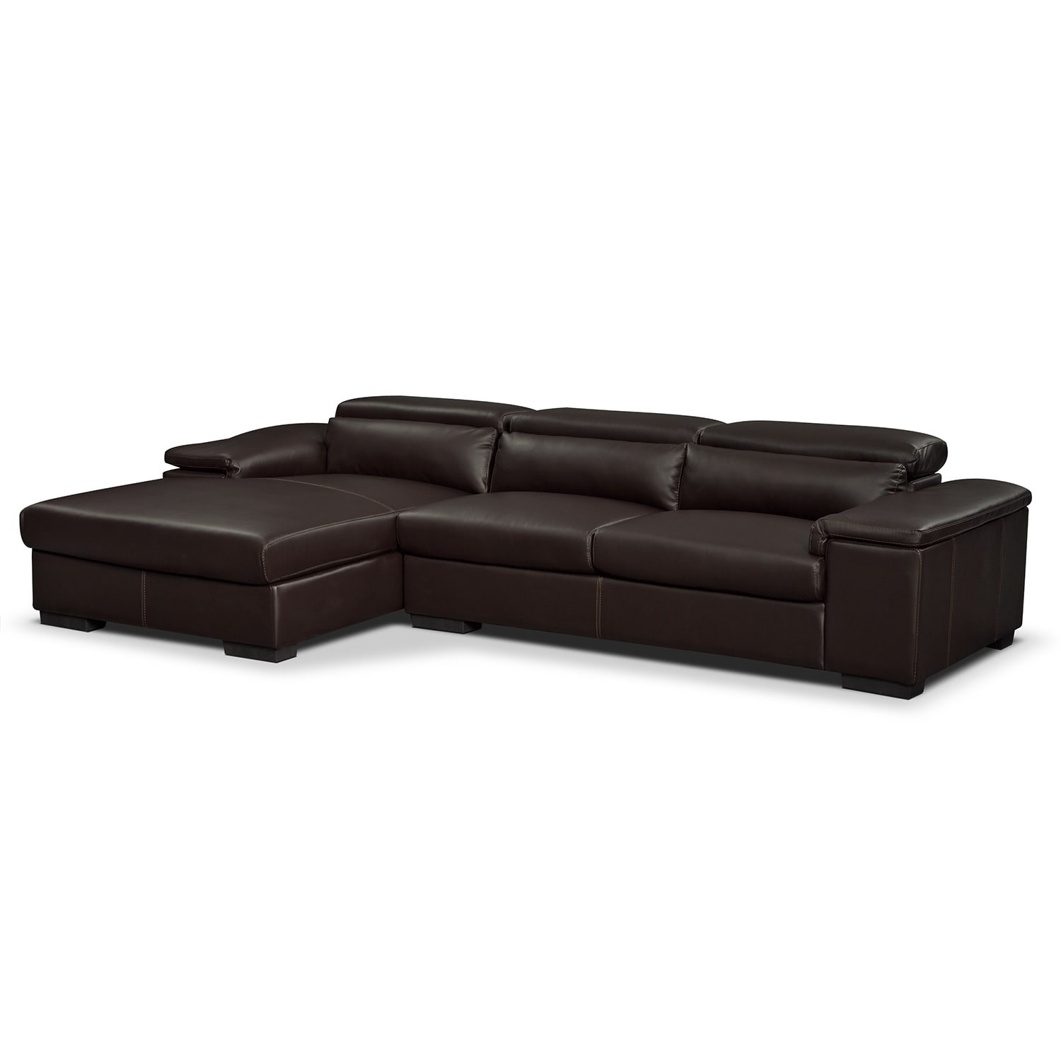 Living Room Furniture - Ventana II 2 Pc. Sectional (Reverse)