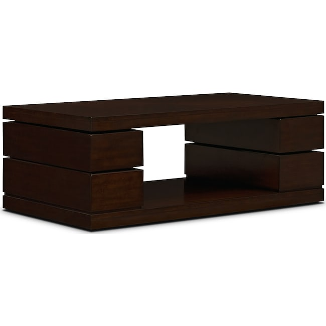Accent and Occasional Furniture - Prestige Cocktail Table - Brown