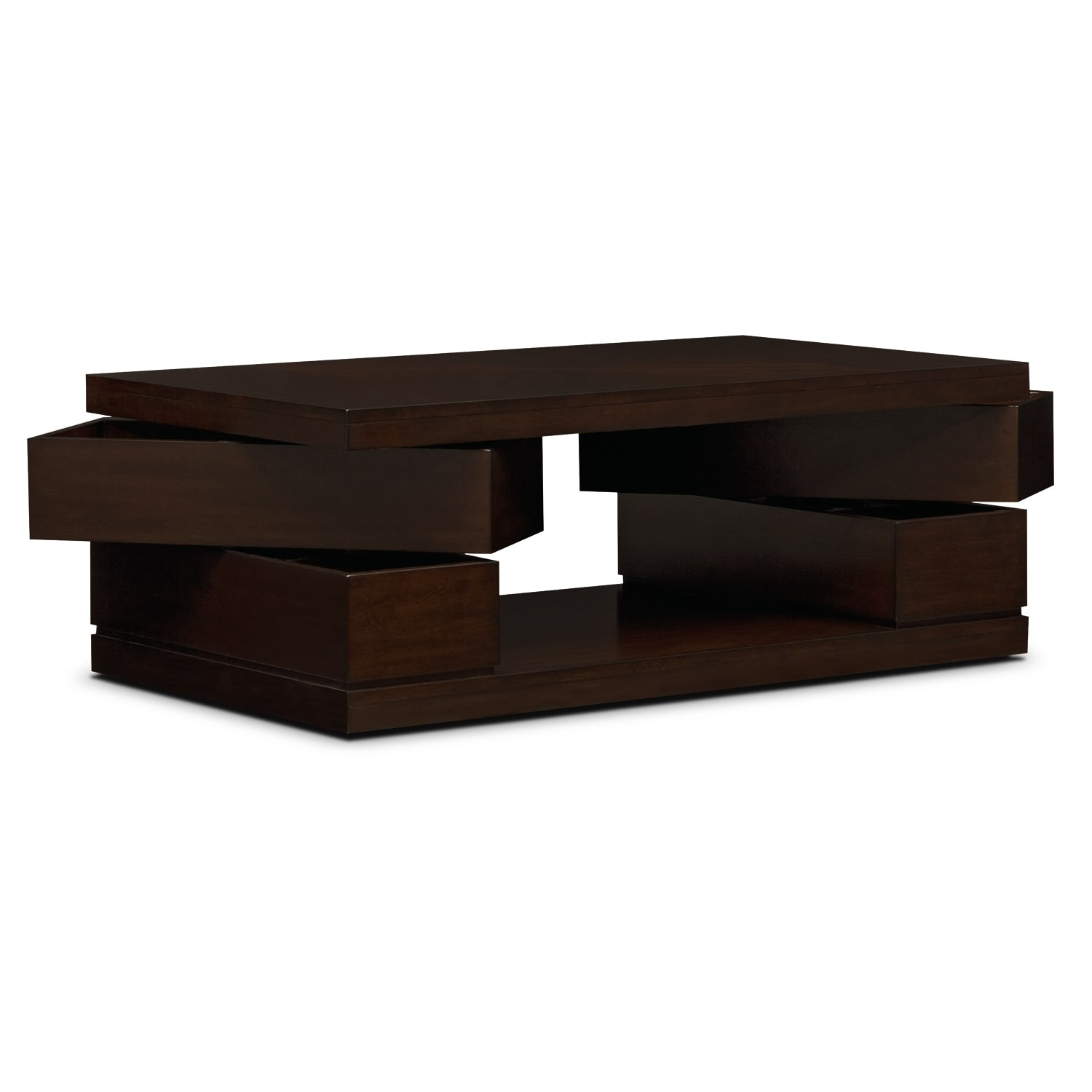 Prestige Cocktail Table Brown