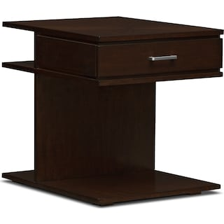 Prestige End Table - Brown