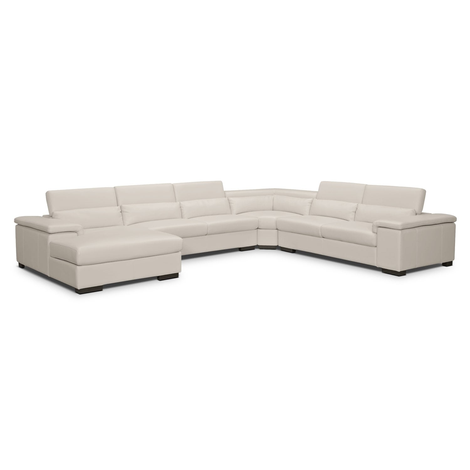 Living Room Furniture - Ventana 4 Pc. Sectional (Reverse)