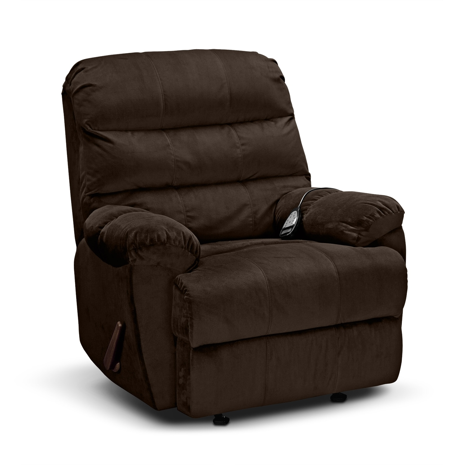 Atlantic Massage Rocker Recliner - Chocolate
