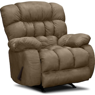 Sonic Rocker Recliner - Taupe