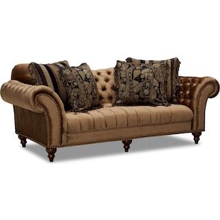 Brittney Sofa - Bronze