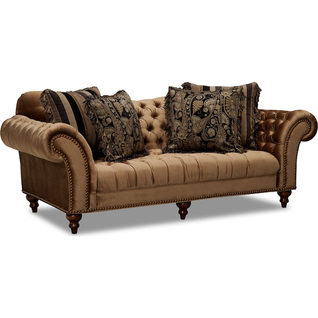 Living Room Furniture Brittney Sofa