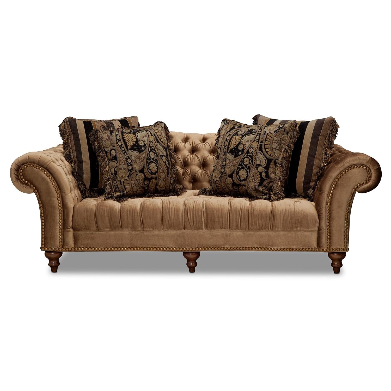 Brittney Sofa Bronze