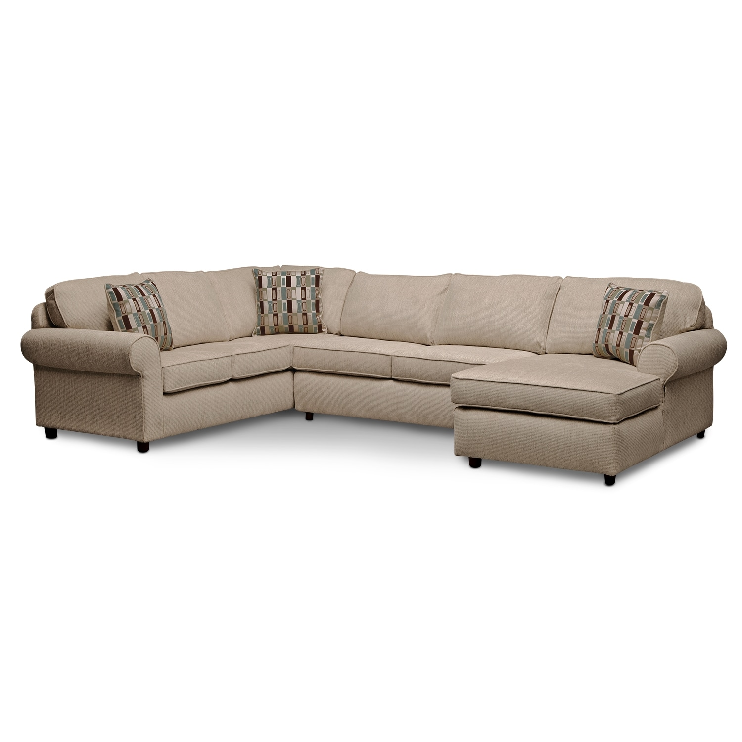 Monarch II 3-Piece Sectional